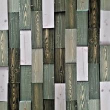카키,모자이크블럭 wood Colour mosaic 랜덤